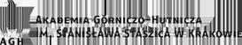 Akademia Górniczo – Hutnicza w Krakowie – Wydział Inżynierii Mechanicznej i Robotyki