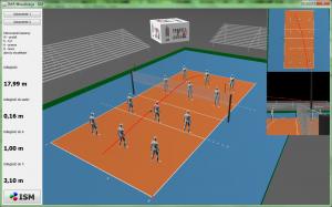 Wizualizacja 3D siatkowka ISM dla AGH IMiR - ekran główny